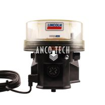 Lincoln P203 Grease pump2 Liters flat reservoir 24V without timer 644-41186-8